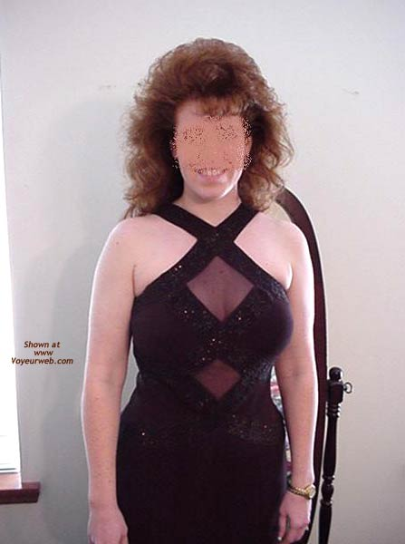 Pic #2 - Redhead Housewife Formal Dress