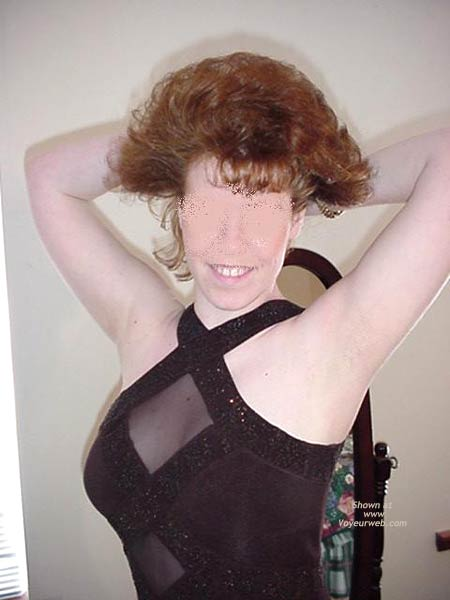 Pic #5 - Redhead Housewife Formal Dress