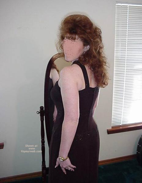 Pic #6 - Redhead Housewife Formal Dress