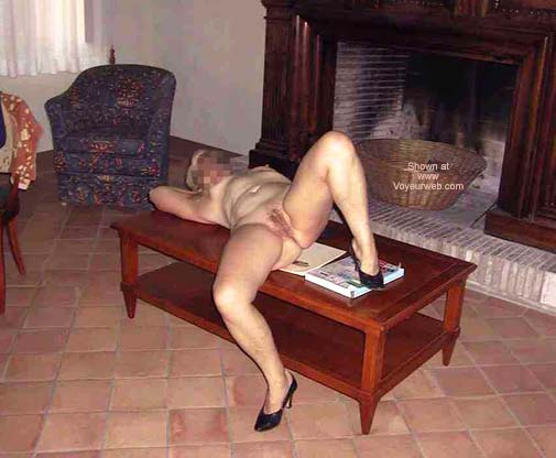 Pic #1 - Lady at The Fireplace