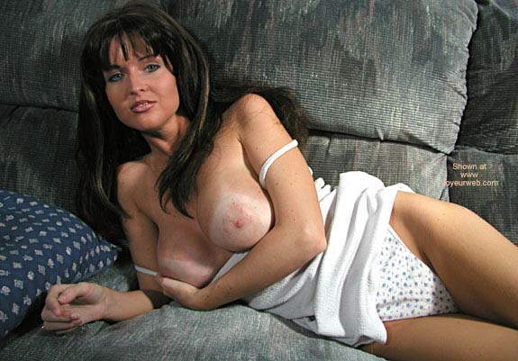 Pic #5 - Nadine in White Dress And Panties