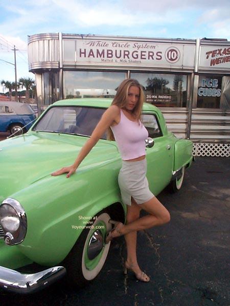 Pic #3 - SugarandSpike @ Car Lot