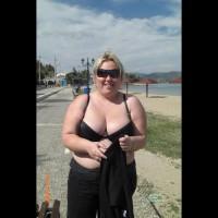 Greek Anna Topless Outdoors