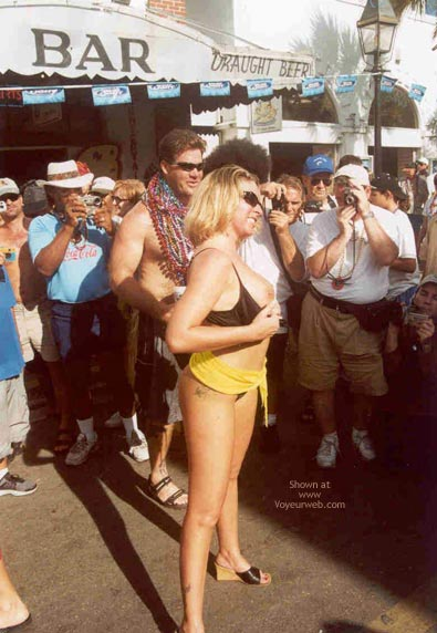 Pic #1 - Sue at Fantasy Fest 2002, Key West