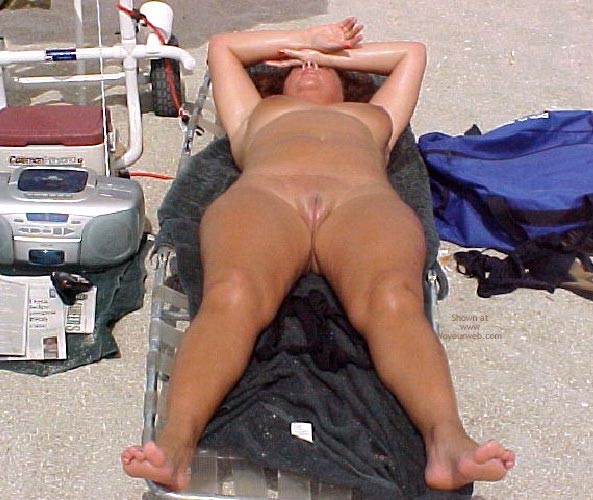 Pic #4 - Mrs E Florida at The Nude Beach