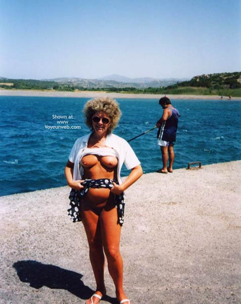 Pic #1 - Connie On Holiday And Flashing