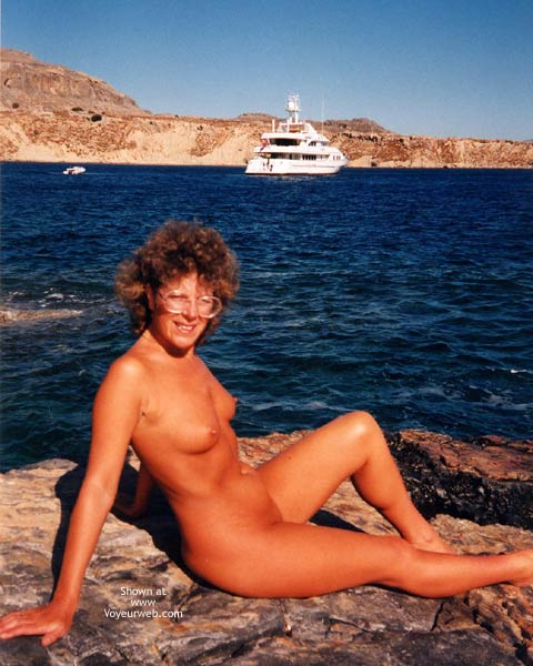 Pic #6 - Connie On Holiday And Flashing