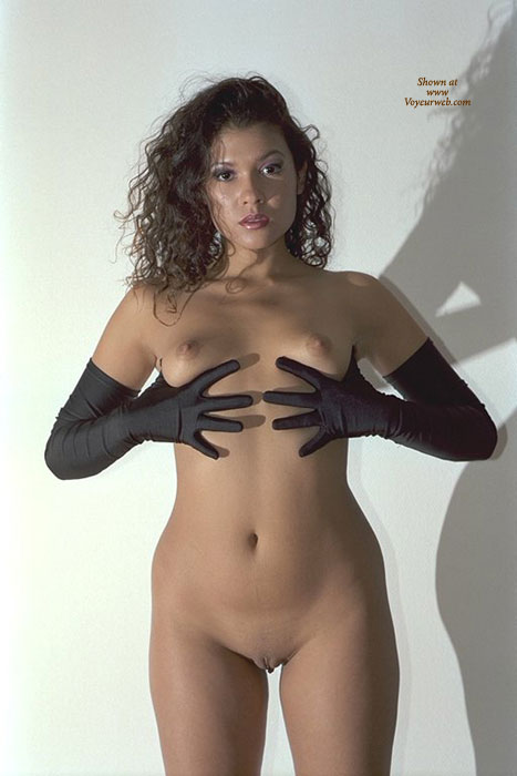 Pic #1 - Black Elbow Length Gloves - Perky Tits, Shaved Pussy, Small Breasts, Bald Pussy, Naked Girl, Nude Amateur , Perky Boobs, Frontal Shot Of Nude Girl Standing, Firm Small Breasts, Small Erect Nipples, Naked, Nice Waist, Pussy Lips