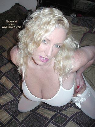 Pic #1 - Nasty Ashley in White Stockings