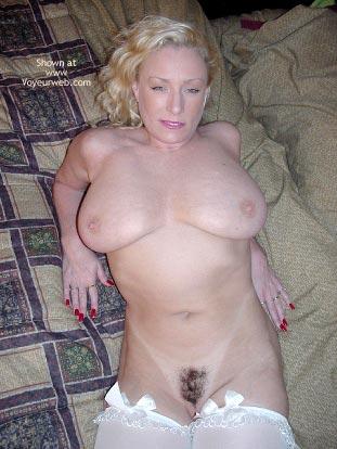 Pic #8 - Nasty Ashley in White Stockings