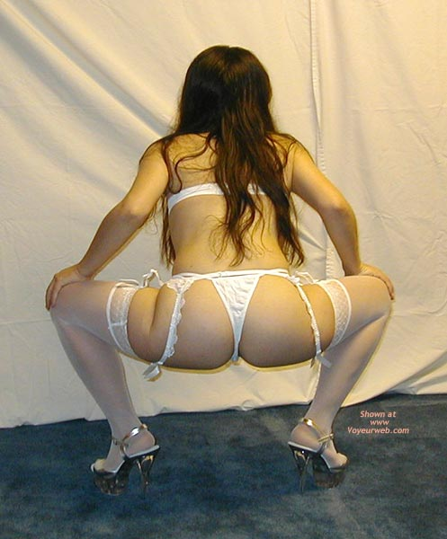 Pic #4 - Petite Dancer In White Stockings 1