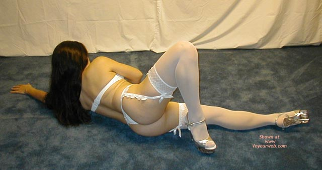 Pic #6 - Petite Dancer In White Stockings 1