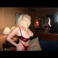 Nasty Ashley Posing In Her Victorian Bra!