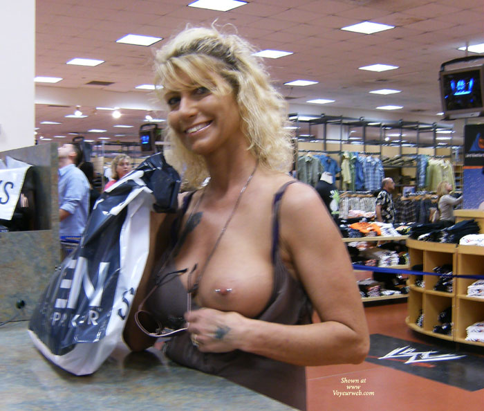 image Downblouse at hardware store