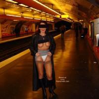 White Panties - Flashing, Sexy Panties