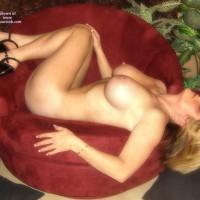 Big Breast - Blonde Hair, Erect Nipples, Heels, Naked Girl, Nude Amateur, Nude Wife