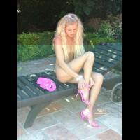 Alina - Outside In Lingerie