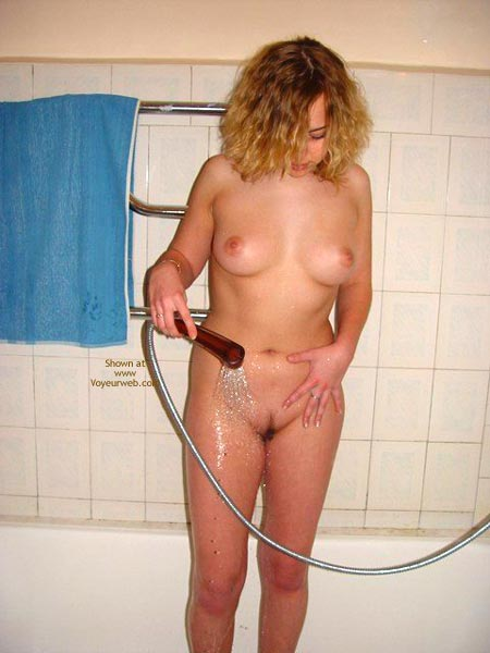 Pic #3 - Shower Time!
