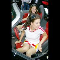 Car Show Upskirt - Upskirt