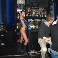 Nude In Bar - Nude In Public