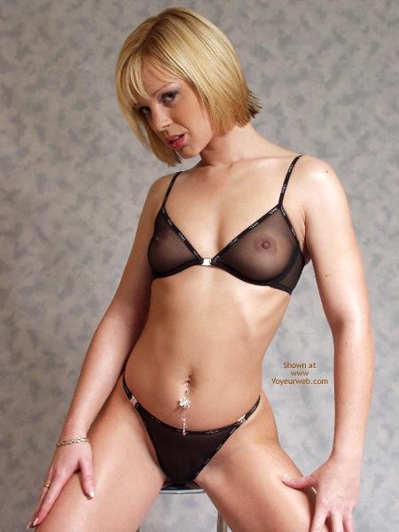 Ejaculation lingerie shorts facial