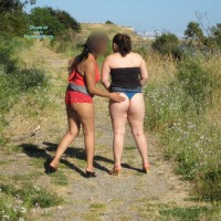 *GG Latinruby & Friend Out For A Walk