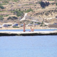 Nudist Couple In Malta