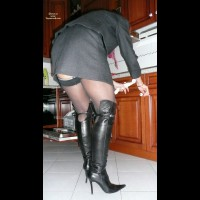 My Wife Wearing Boots