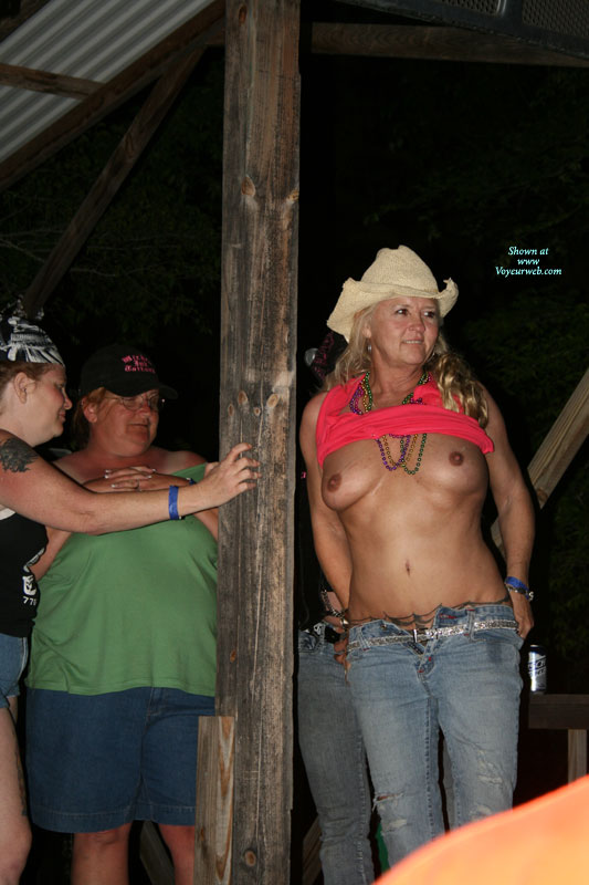 Pic #1 - Bike Rally Part 1 , We Went To A Bike Rally In North Georgia And The Tattoo Contest And Bikini Contest Got Wild. Some Of The Pics Will Be In The Redclouds Section