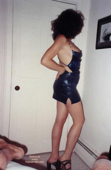 Pic #2 - Hot Legs and Blue Dress