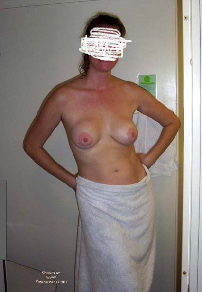 Pic #1 - Hottie Wife On A Cruise
