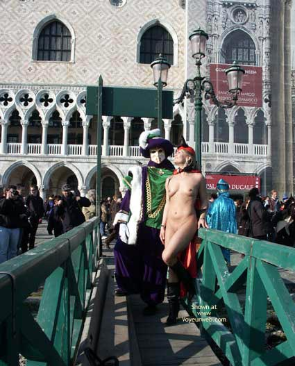 Pic #2 - Elise at The Carneval of Venice