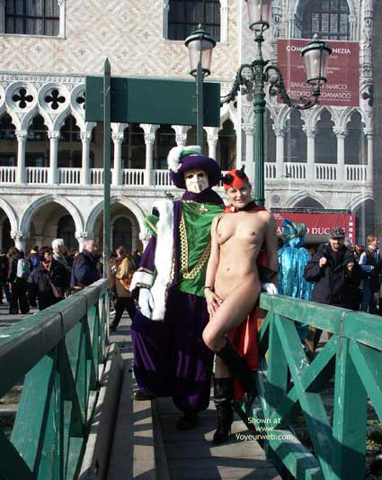 Pic #3 - Elise at The Carneval of Venice