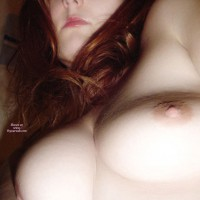 Close Up Of Breasts - Long Hair