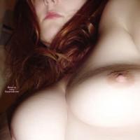 Close Up Of Breasts - Long Hair