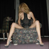 *OC Blondie in a Chair
