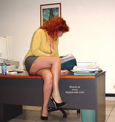 Pic #2 - Caty in Ufficio