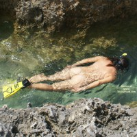 Nude Snorkelling - Naked Girl, Nude Amateur
