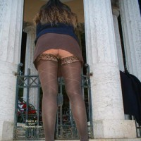 Rear Exposure - Stockings