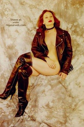Pic #3 - Nude in Leather 2