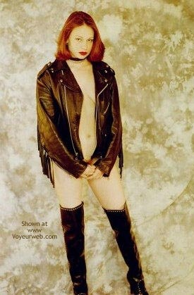 Pic #10 - Nude in Leather 2