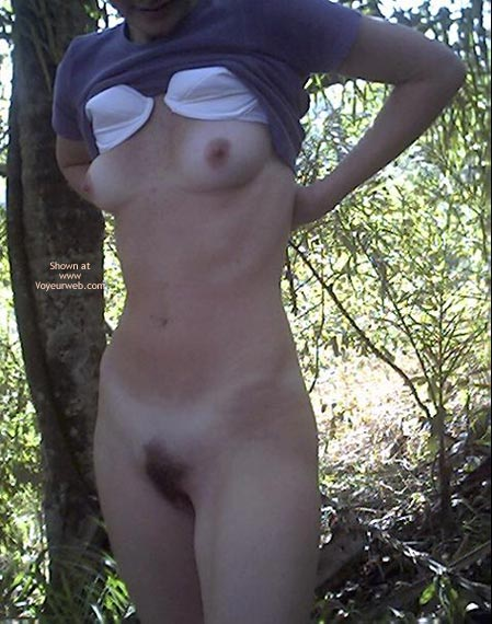 Pic #6 - Virginia First Time 23 yo Beauty in The Woods