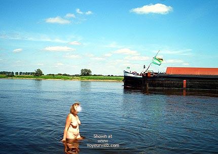 Pic #1 - Mausis Heisser Tag an der Elbe