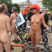 World Naked Bike Ride 2008 - London