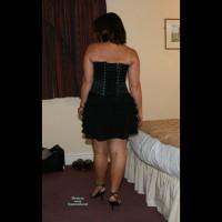 Shy Wife - New Black Corset
