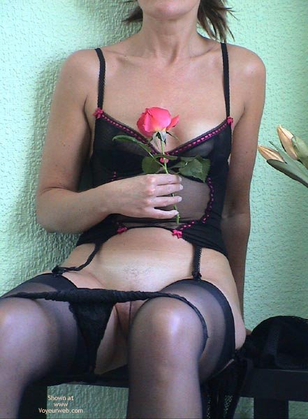 Pic #6 - English Rose Lady in Black