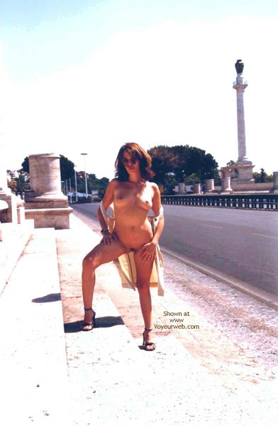 Pic #2 - Angela Walking Round Rome's Beauties