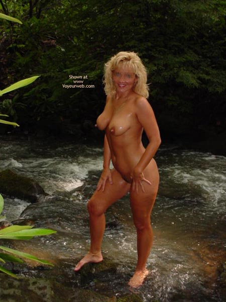 Pic #1 - *MN Hot Wife Cassie in The Stream 1