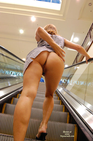 Pic #1 - Flashing Ass On Escelator - Flashing Ass, Flashing, Hot Wife, Wife Ass , Leopard Mini Dress, Raised Skirt From Behind On Escalator, Pantyless Girl Upskirt On Escalator, Escalator Upskirt, Pantyless Upskirt, Pantyless Short Dress, Mall Flashing, Flashing Ass And Pussy