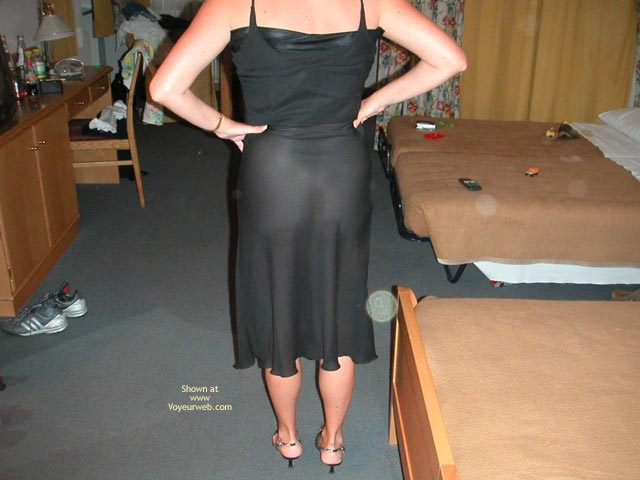 Pic #10 - Wife at The Hotel